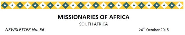 Newsletter South Africa no 56 title