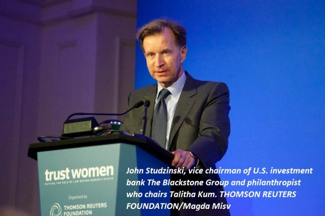 Thomson Reuters Foundation (London) chair