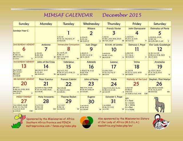 2016 MIMSAF Calendar 3 copie