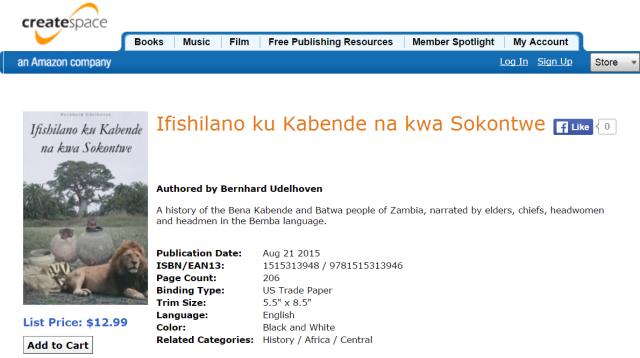 Ifishilano ku Kabende na kwa Sokontwe, by Bernhard Udelhoven web