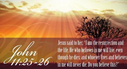 John 11-25-26