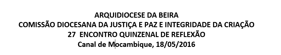27  ENCONTRO QUINZENAL DE REFLEXÃO