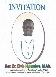 Invitation card Oath Elvis