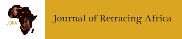 Journal of Retracing Africa web page