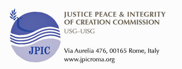 JPIC Commission, USG-UISG, Rome, Italy LOGO and data