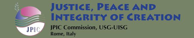 JPIC Commission, USG-UISG, Rome, Italy LOGO Web