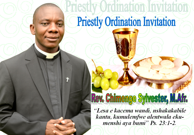Ordination Card Sylvester