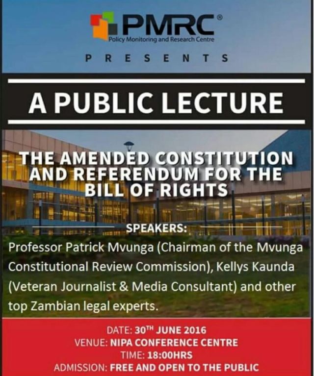 A Public Lecturer constitution bill of rights June 2016
