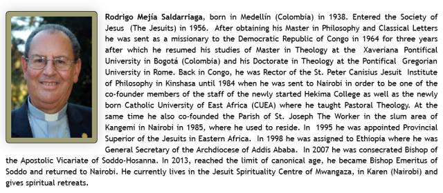 Anti-Slavery Campaign Interview Series. Bishop Rodrigo Mejía, SJ 02