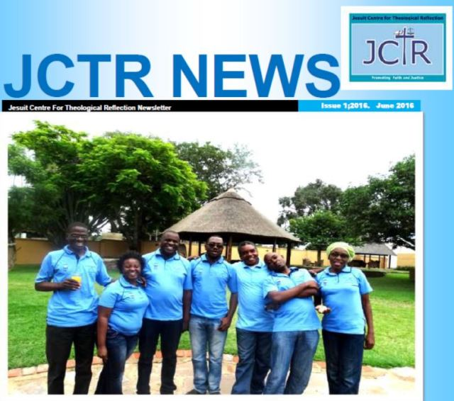 CJTR News No 1 June 2016