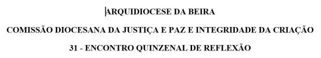 COMISSÃO DIOCESANA DA JUSTIÇA E PAZ 31