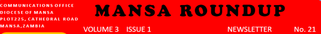 Mansa Roundup Newsletter Vol. 3 Issue 1 No. 21 logo