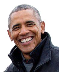 Barak Obama PNG