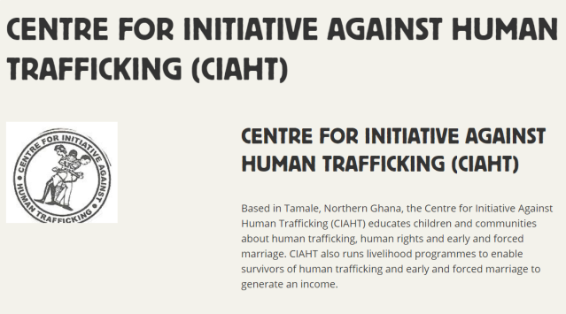 Centre for Initiative Against Human Trafficking (CIAHT)